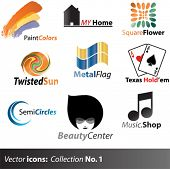 Vector icons collection 1