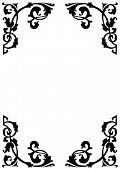 Victorian Ornamental Page Borders