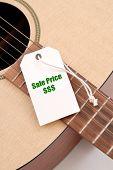 Preço de venda da guitarra