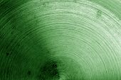 Metal Surface With Scratches In Green Tone. Abstract Background And Texture For Design. poster