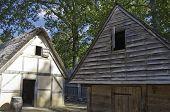 17th Century Barn Replica in Jamestown