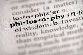 Dictionary Series - Philosophy: Philosophy
