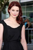 LOS ANGELES - JUN 21:  Alexandra Breckenridge arriving at the True Blood Season 4 Premiere at ArcLig