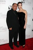 LOS ANGELES - JAN 29:  Cheech Marin and wife Natasha Rubin arrives at the Valley Performing Arts Cen