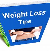 Weight Loss Tips Book Shows Diet Advice