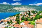Beautiful View Of Montenegro City At The Seashore