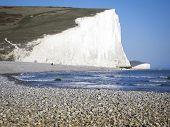 Pebble Beach Sussex Coast England