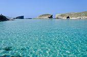 Clear Blue Seas In Comino
