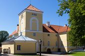 Ventspils Castle  Is Located In Ventspils, Latvia
