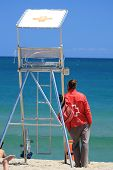 Baywatch At The Sea