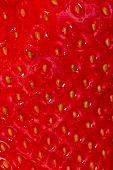 Strawberry skin texture