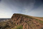 Cliff over Edinburgh, Scotland