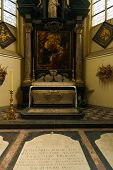 Peter Paul Rubens Tomb Grave Jacobskerk Antwerp