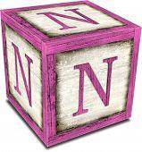 Alpha Block N Pink