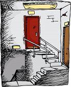 Empty Stairwell