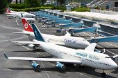ISTANBUL - JULY 4: Ataturk International Airport in Miniaturk Museum, on July 4, 2012 in Istanbul, T