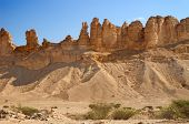 pic of riyadh  - Clay rocks surrounding Riyadh city in Saudi Arabia - JPG