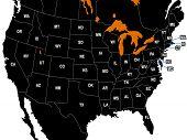 America States Map
