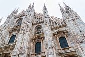 Milan Cathedral Low Angle