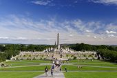 Vigeland Sculpture Arrangement, Frogner Park, Oslo, Norway