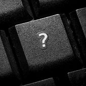 Question Sign On Keyboard Button