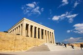 stock photo of mausoleum  - Ankara - JPG