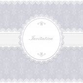 Invitation card. Vector illustration.