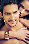 picture of seduce  - Portrait of cute couple - JPG