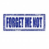 Forget Me Not-stamp