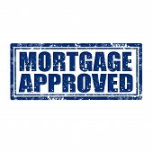 Mortgage Approved-stamp