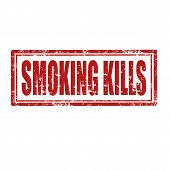 Smoking Kills-stamp