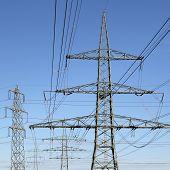 Electricity Pylons Energy Power