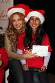 LOS ANGELES - NOV 6:  Thalia, Azucena Ortega at the Thalia and Make-A-Wish Celebrate National Believe Day Event at the Macy's on November 6, 2013 in Glendale, NV