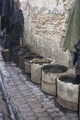 Buckets Near A Tannery