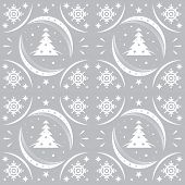 Winter Pattern Silver