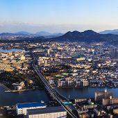 Fukuoka aerial view