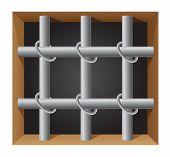 Prison Bar Vector Illustration