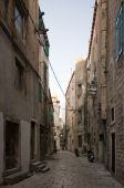 kleine Straße in sibenik
