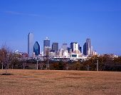 City skyline, Dallas, USA.