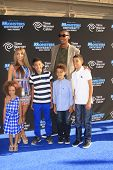 LOS ANGELES - JUN 17:  Scotty Pippen and family at the