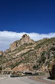 The rocky road to Mt Lemmon.