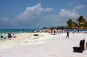 Sandy Beah In The Bahamas