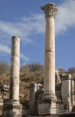 Ancient Greek Town Of Ephesus In Turkey