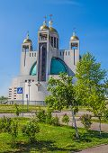 foto of kiev  - Cathedral of the Resurrection of Christ or the Kiev Orthodox Cathedral of Christ - JPG