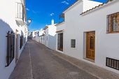 Altea old village in white whitewashed typical Mediterranean at Alicante Spain