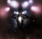 image of possess  - Mystical aliens attacking light and invading Earth - JPG