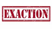 Exaction Stamp