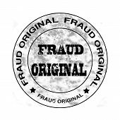 Fraud Original Stamp