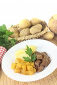 Venison Goulash With Rutabaga And Potatoes