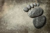 Foot Shape By Stone